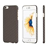 PITAKA minimalistische iPhone 6 Plus/ iPhone 6s Plus Hülle, Aramid-Faser [Kugelsicheres Material]...