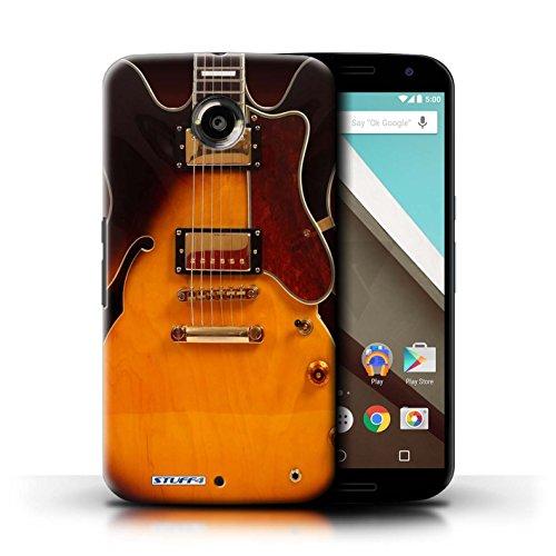 Kobalt® Imprimé Etui / Coque pour Motorola Nexus 6 / Electro Acoustique conception / Série Guitare Electro Acoustique