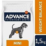 Advance Veterinary Diets Weight Balance Croquettes pour Chien Mini 1,5 kg