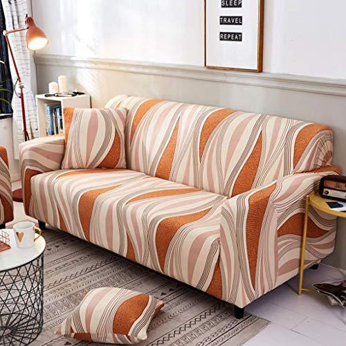 Lyx1,copridivano cuscino per divano in tessuto europeo combinato con rivestimento integrale elasticizzato completo 111 (dimensioni : 4 seater 235-300cm(92-118inch))
