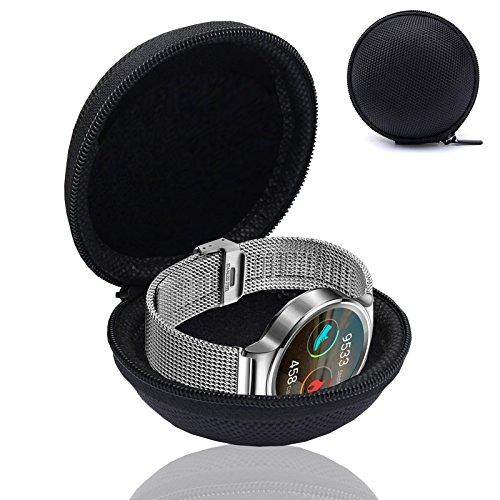 Motorola Box (Smartwatch Fitnesstracker Armband Uhr Tasche Schutz Hülle Etui Box Case für Motorola Moto 360 Sport)