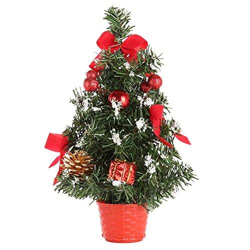 Ardorlove Mini Weihnachtsbäume Weihnachtsschmuck Kleine Kiefer Set Festival Home Party Ornaments-30CM -