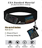 Lucear Running Belt ,Multifunctional Water Resistant Waist Bag, Waist Pack for Running Hiking Cycling Climbing .For iPhone, iPod, Samsung