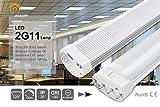 BRIGHTINWD 220 Volts nicht dimmbar LED 2 G11 9 W 6000 K Weiß Kalt