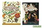 Die Schule der magischen Tiere 9: Versteinert! (Hardcover) + Die Schule der magischen Tiere: Endlich Pause! Das Große Rätselbuch (Softcover), Kinderbuch der Bestsellerreihe!