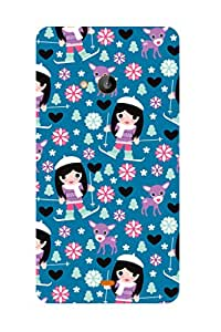 ZAPCASE PRINTED BACK COVER FOR Nokia Lumia 535