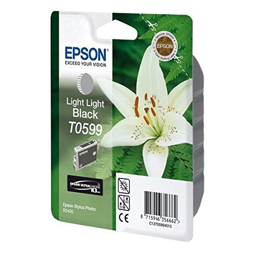 Preisvergleich Produktbild Epson T0599 Tintenpatrone Lilie, Singlepack, hell hell schwarz