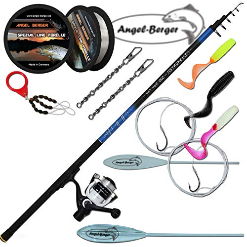 Angel-Berger Tele Trout Angelset Sbirulinoset Forellenset