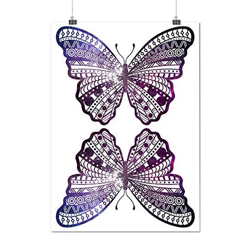 cosmique-papillon-insecte-beaut-matte-glac-affiche-a2-60cm-x-42cm-wellcoda