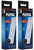 Fluval A482 Poly- / Clearmax-Filtereinsatz für Filter Fluval U3, 2 x 2 Stück