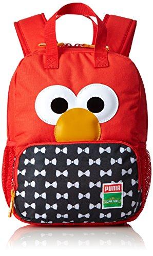 Elmo Lustige (PUMA Kinder Sesame Street Backpack Rucksack, High Risk Red-Elmo, 29 x 36 x 3 cm)