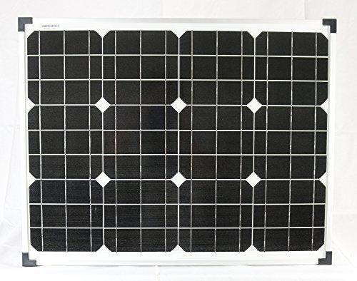50 Watt Solarmodul Monokristallin 12V Solarpanel Solarzelle 50W