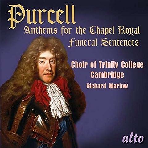 Purcell : Hymnes pour la Chapelle Royale. Marlow.