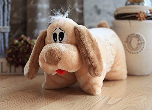 Knuffelwuff 12789 Hundespielzeug Knuffi 2in1 Hund Plüsch, 35 cm