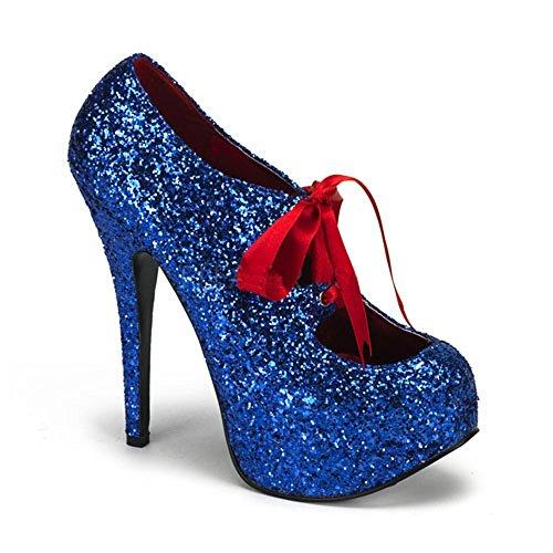Donna Tacchi perfetti Blu Scarpe Tacchi perfetti 0XqSaqB