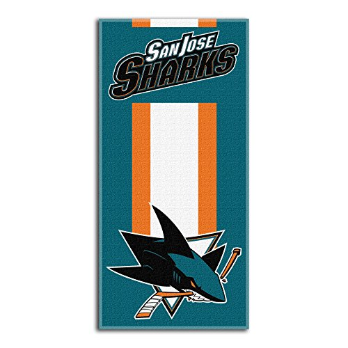 "The Northwest Company NHL Anaheim Ducks-""Zone Read""-Strandtuch, 76 cm x 152 cm, 1NHL620000020RET, Deep Pacific Teal"
