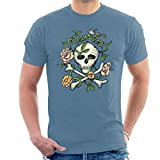 Mambo Skull And Crossbones Men's T-Shirt