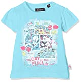 BLUE SEVEN Baby-Mädchen Mini Md T-Shirt, Blau (Cyan Orig 650), 86