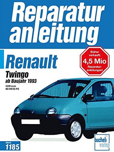 Preisvergleich Produktbild Renault Twingo: ab Baujahr 1993 - 1239 ccm, 40 kW/55 PS  (Auto-Reparaturanleitungen)
