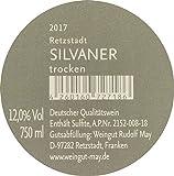 May Retzstadt Silvaner 2017 Trocken VDP.Ortswein (1 x 0.75l) Frankenwein Weisswein