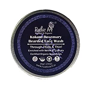 Rustic Art Organic Face Wash Concentrate (Bearded Face Wash)