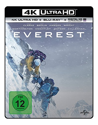 Everest - Ultra HD Blu-ray [4k + Blu-ray Disc]