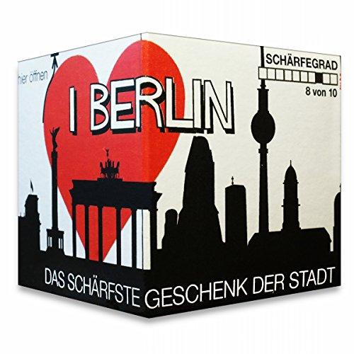Preisvergleich Produktbild I Love Berlin - Das schärfste Geschenk der Stadt! Ein kleines Souvenir in der praktischen Box.