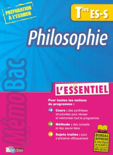 MEMOBAC ESSENTIEL PHILO TERM
