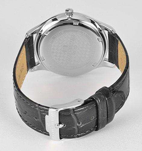 Jacques Lemans Damen-Armbanduhr Rome Analog Quarz Leder 1-1841A