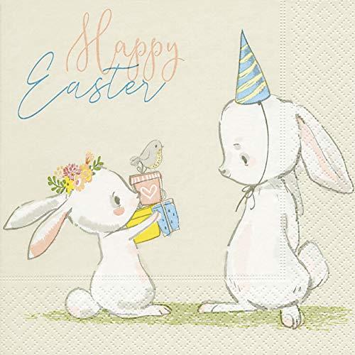 20 tovaglioli Coniglietto pasquale Bunny Pasqua Pasqua Happy Easter