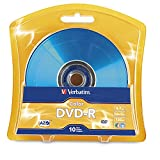 Verbatim DVD-R 4.7GB 16x AZO Recordable Media Disc - 10 Disc Blister 97513