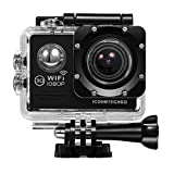 ICONNTECHS IT Action Cameras C2 Sport Action Camera, Full HD 1080P, Impermeabile, Lente Grandangolo...