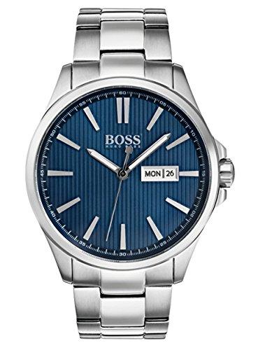 Hugo Boss Homme Analogique Classique Quartz Montres bracelet avec bracelet en Acier Inoxydable - 1513533