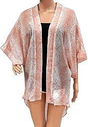 URBAN TRENDZ 2792 Polyester Printed Kimono Topper