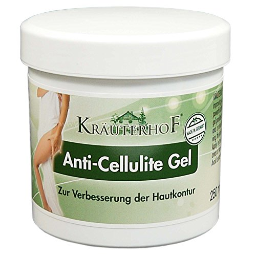 Kräuterhof Anti-Cellulite-Gel 250ml straffende Creme mit Wärmeeffekt