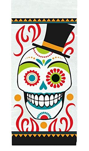 enkopf Partytüten, 30cm x 13cm, 20 Stück, Mehrfarbig (Friedhof Halloween Song)