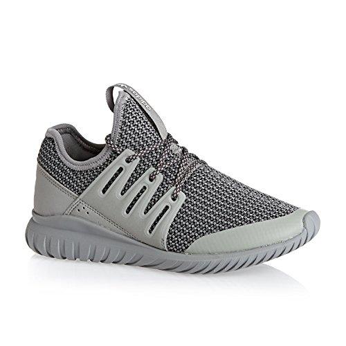 adidas Tubular Radial J, Scarpe da Ginnastica Unisex – Bambini Solid Grey