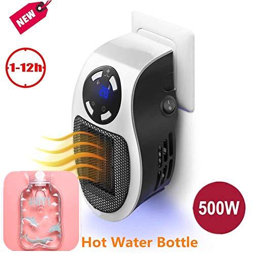 Portable Heater - Mini Estufa Eléctrica 500 W Termoventilador