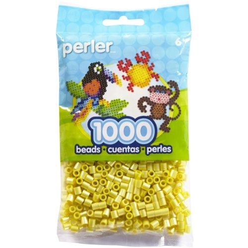 Perler Sac, Jaune, 1000 graines