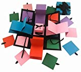 #3: Crack of Dawn Crafts 3 Layered All Occasion Explosion Box - Rubik's Hues