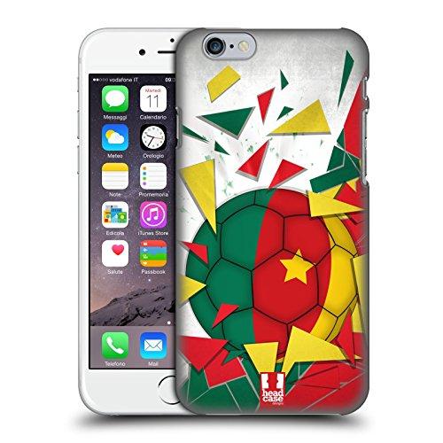 Head Case Designs Algérie Ballon De Football Étui Coque D'Arrière Rigide Pour Apple iPhone 6 / 6s Cameroun