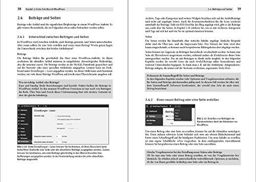 Das WordPress Praxishandbuch: Der Bestseller, nun fur WordPress 4.6 (4., aktualisierte Auflage) - 4