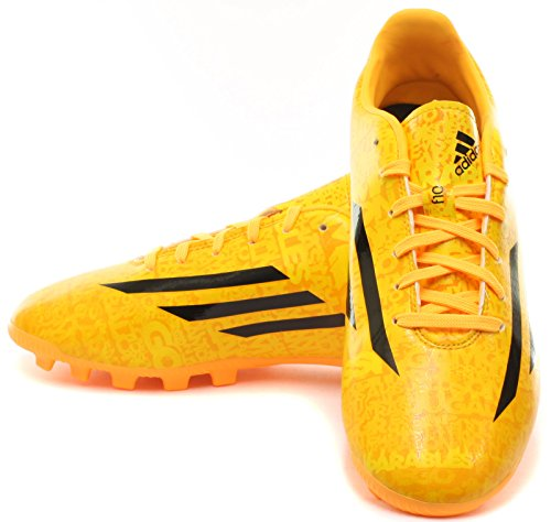 Adidas Scarpe da calcio F10 Ag J Messi Giallo