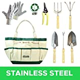 Best gardening tools - GardenHOME 9 Piece Stainless Steel Garden Tool Set Review