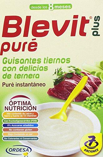 Blevit Plus Puré Guisantes Tiernos Cereales - 280 gr