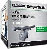 Rameder Komplettsatz, Dachträger SquareBar für VW Transporter VI Bus (124911-14350-2)