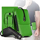 (Green) case for ALLVIEW P8 ENERGY MINI case (PU) Leather