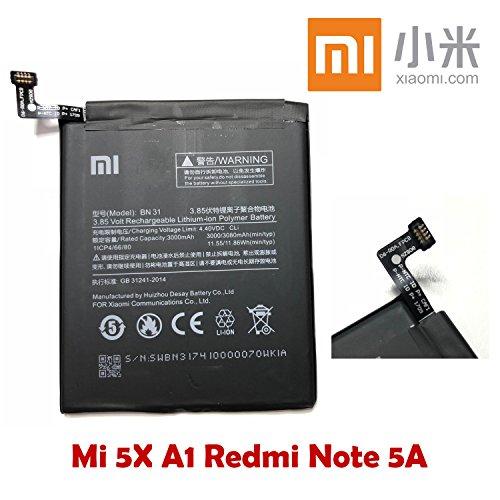 Batería Xiaomi bn31BN 313000mAh Original Xiaomi