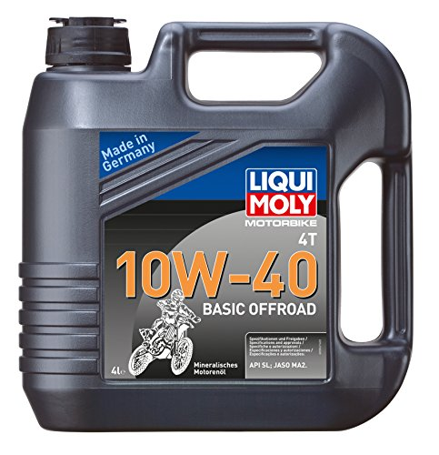 Liqui moly 3062 motorbike 10W – 40 huile 4T basic offroad pas cher