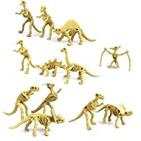 Moonnot Set of 12pcs Model Dinosaur Skeleton Kit Assorted